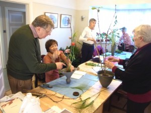 ikebana class in west London