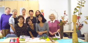 Ikebana class in London