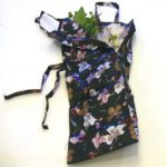 Ikebana flower carrying bag
