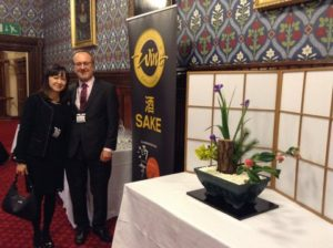 Junko & keith at House of commons