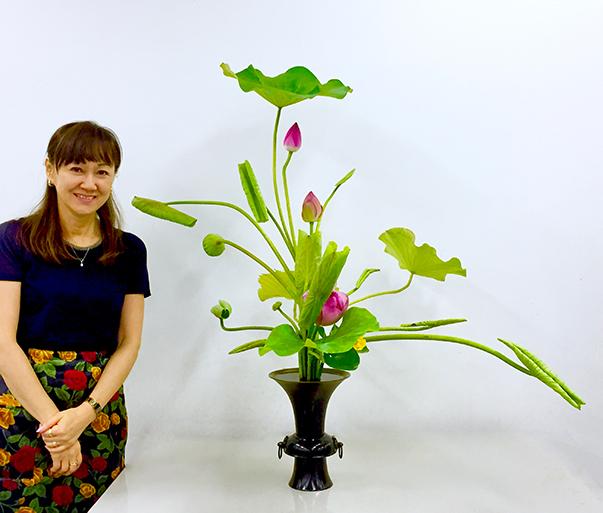 Junko with Rikka Shofutai