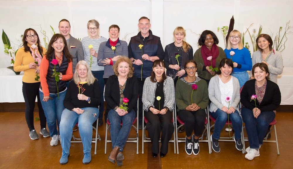 weekend intensive ikebana workshop Spring 2019